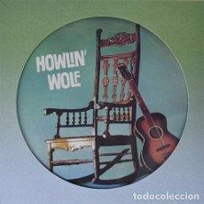 Discos de vinilo: LP HOWLIN' WOLF PICTURE DISC VINILO. Lote 110235795