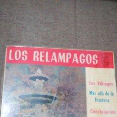 Discos de vinilo: LOS RELÁMPAGOS EP LOS VIKINGOS. Lote 110237114