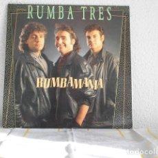 Discos de vinilo: RUMBA TRES-LP RUMBAMANIA. Lote 235325095