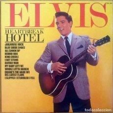 Discos de vinilo: ELVIS PRESLEY : HEARTBREK HOTEL [UK 1981] LP/COMP/RE. Lote 110249011