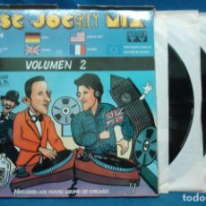 Discos de vinilo: - DISC . JOCKEY MIX VOLUMEN 2 - KEY RECORDS 1987 - 3 DISCOS. Lote 110249291