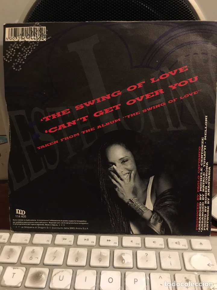 Discos de vinilo: CELESTE JOHNSON-THE SWING OF LOVE-1991-NUEVO-CON TROQUEL PROMOCIONAL - Foto 2 - 110260338