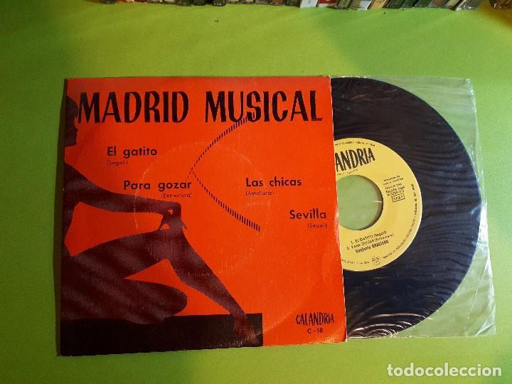 MADRID MUSICAL - EL GATITO +3 - COMPRA MÍNIMA 3 EUROS (Música - Discos de Vinilo - EPs - Grupos Españoles de los 70 y 80)
