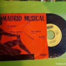 Discos de vinilo: MADRID MUSICAL - EL GATITO +3 - COMPRA MÍNIMA 3 EUROS. Lote 110263479