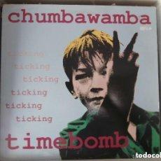 Discos de vinilo: CHUMBAWAMBA - TIMEBOMB (MX) 1993. Lote 110268731