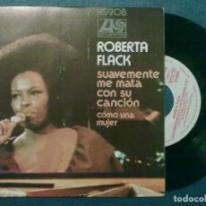 Discos de vinilo: ROBERTA FLACK -SUAVEMENTE-1973. Lote 110270551