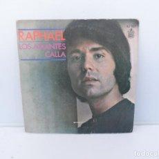 Discos de vinilo: RAPHAEL SINGLES VINILO - HISPAVOX . Lote 110278323