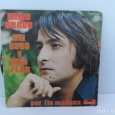 Discos de vinil: NINO BRAVO SINGLES VINILO POLYDOR . Lote 110281331