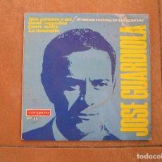Discos de vinilo: JOSE GUARDIOLA – NON PENSARE A ME / 1ER PREMIO FESTIVAL SAN REMO 67 - VERGARA 1967 - SINGLE - P. Lote 110287383