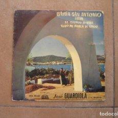 Discos de vinilo: JOSE GUARDIOLA – BAHIA SAN ANTONIO - REGAL 1958 - SINGLE - P. Lote 110288091