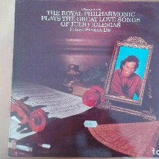 Discos de vinilo: ROYAL PHILHARMONIC PLAYS LOVE SONGS OF JULIO IGLESIAS CARPETA DISCO Y LABELS PERFECTOS ESTADO MINT!!. Lote 110291811