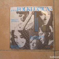 Discos de vinilo: JOYAS FOLKLORICAS - ODETTA -JOAN BAEZ -IAN AND SYLVIA -HISPAVOX 1965 - SINGLE - P. Lote 110296839