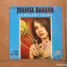 Discos de vinilo: ELISEO DEL TORO – JUANITA BANANA - MARFER 1966 - SINGLE - P. Lote 110305655