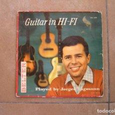 Discos de vinilo: JORGEN INGMANN - GUITAR IN HI-FI - BELTER 1958 - SINGLE - P. Lote 110308347