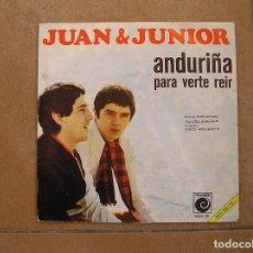 Discos de vinilo - Juan & Junior – Anduriña - Novola 1968 -single - p - 110313911