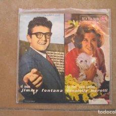 Discos de vinilo: RITA PAVONE / GIANNI MORANDI / JIMMY FONTANA / DONATELLA MORETTI - RCA VICTOR 1965 - SINGLE - P. Lote 110314515
