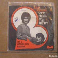Discos de vinilo: JULIE DRISCOLL - BRIAN AUGER AND THE TRINITY* – I AM A LONESOME HOBO - POLYDOR 1968 - SINGLE - P. Lote 110321415