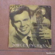 Discos de vinilo: JORGEN INGMANN - ALEXANDE'S RAG TIME BAND - BELTER - SINGLE - P. Lote 110322331