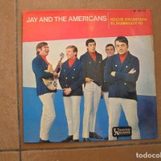 Discos de vinilo: JAY AND THE AMERICANS – NOCHE ENCANTADA - UNITED ARTISTS RECORDS 1965 - SINGLE - P -. Lote 110337091