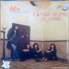 Discos de vinilo: ASFALTO : CAPITAN TRUENO [ESP 1978] 12'. Lote 110342647