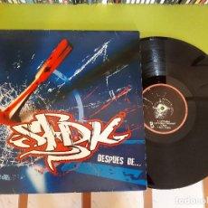 Discos de vinilo: SFDK - DESPUÉS DE... . Lote 110357679
