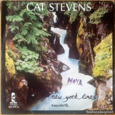 Discos de vinilo: CAT STEVENS : NEW YORK TIMES [ESP 1978] 7'. Lote 110364743