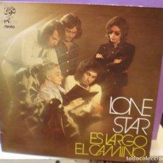 Discos de vinilo: LONE STAR - ES LARGO EL CAMINO - LP GATEFOLD EDICIÓN ESPAÑOLA DE 1972 (5506-VS). Lote 110402383