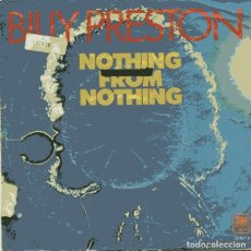 Discos de vinilo: BILLY PRESTON / NOTHNG FROM NOTHING / MY SOUL IS MY WITNESS (SINGLE 1974). Lote 110402515