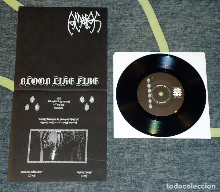 AMOFAS - BLOOD LIKE FIRE - 7'' [CINEREOUS, 2012] (Música - Discos de Vinilo - EPs - Heavy - Metal)