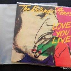 Discos de vinilo: 100 FUNDAS EXTERIORES GRANDES PARA DISCO VINILO LP Y DOBLE LP GALGA 400. Lote 110419343