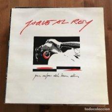 Discos de vinilo: JAQUE AL REY - PER CULPA DELS TEUS ULLS - LP PICAP 1991. Lote 110446007