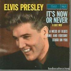 Discos de vinilo: ELVIS PRESLEY EP SELLO RCA EDITADO EN FRANCIA. Lote 110447347