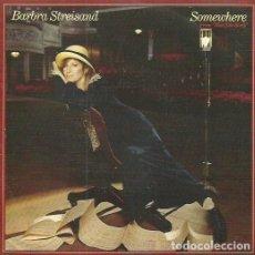 Discos de vinilo: BARBRA STREISAND. SINGLE. SELLO CBS. EDITADO EN ESPAÑA. AÑO 1985. Lote 110447799