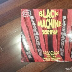 Discos de vinilo: BLACK MACHINE-DOUBLE MIX. 2 MAXI ITALIA. Lote 110454583