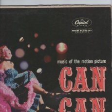 Discos de vinilo: CAN-CAN - MUSIC OF THE MOTION PICTURE BY NELSON RIDDLE - LP CAPITOL USA 1960. Lote 110455715