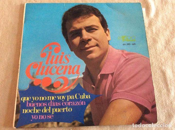 Luis Lucena Que Yo No Me Voy Pa Cuba Buenos Kaufen Vinyl