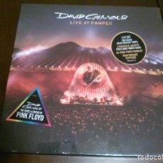 Discos de vinilo: DAVID GILMOUR - 4 LP - LIVE AT POMPEII - PINK FLOYD - DIRECTO 2016 - PRECINTADO. Lote 110468695