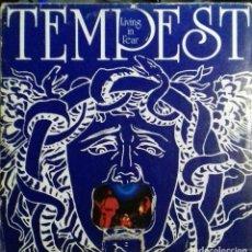 Discos de vinilo: TEMPEST. LIVING IN FEAR. UK HARD PROG. LP OLLIE HALSALL. Lote 110480903