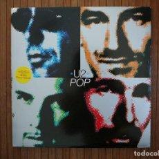 Discos de vinilo: U2 POP LIMITED EDITION. VINILO DOBLE. BONO, THE EDGE, LARRY MULLEN, ADAM CLAYTON.. Lote 110481867