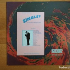 Discos de vinilo: SINGLES. THE GREAT NEW YORK SINGLES SCENE: PATTI SMITH, TELEVISION, RICHARD HELL, ERASERS, .... Lote 110483099