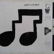 Discos de vinilo: HAPPY BIRTHDAY - '' HAPPY BIRTHDAY '' LP + LINK 2010 USA SUB POP. Lote 28484638