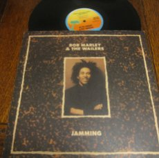 Discos de vinilo: BOB MARLEY AND THE WAILERS `JAMMING`(LONG VERSION). Lote 110464283