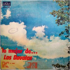 Discos de vinilo: LOS DAVALOS – LO MEJOR DE... LOS DAVALOS - LP PERU 1965 - SONO RADIO LPL 1124. Lote 110485251