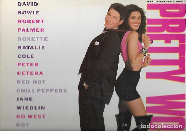 LP VINILO PRETTY WOMAN BSO (Música - Discos de Vinilo - Maxi Singles - Pop - Rock Extranjero de los 90 a la actualidad)