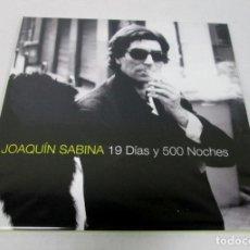 Discos de vinilo: JOAQUIN SABINA - 19 DIAS Y 500 NOCHES - 2 LP - ARIOLA 1999 REEDICION GATEFOLD - NUEVO PRECINTADO. Lote 124864854