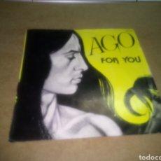 Discos de vinilo: AGO, FOR YOU, STOP YOUR LIFE, 1982. Lote 110487578