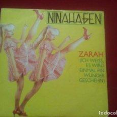 Discos de vinilo: VINILO DE NINA HAGEN Y LA CANCIÓN ZARAH AÑO1983. Lote 110488979