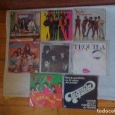 Discos de vinilo: TEQUILA LOTE DE SINGLES . Lote 110493011