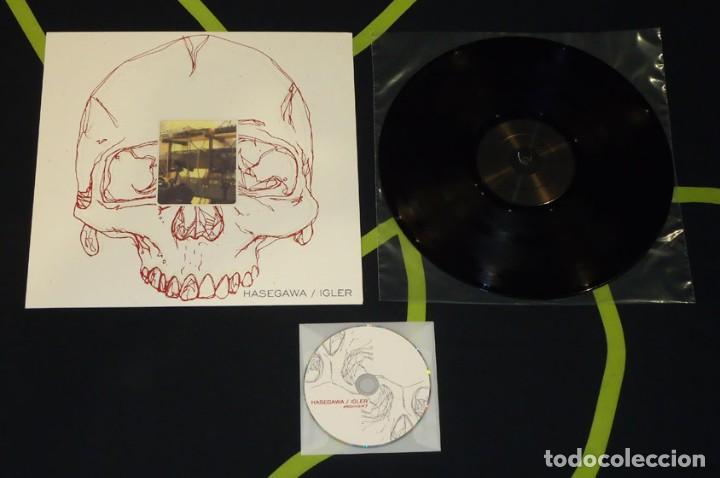 HASEGAWA / IGLER - 12'' + CD [ARCHIVE, 2009 · LIM. 200] (Música - Discos - LP Vinilo - Electrónica, Avantgarde y Experimental)