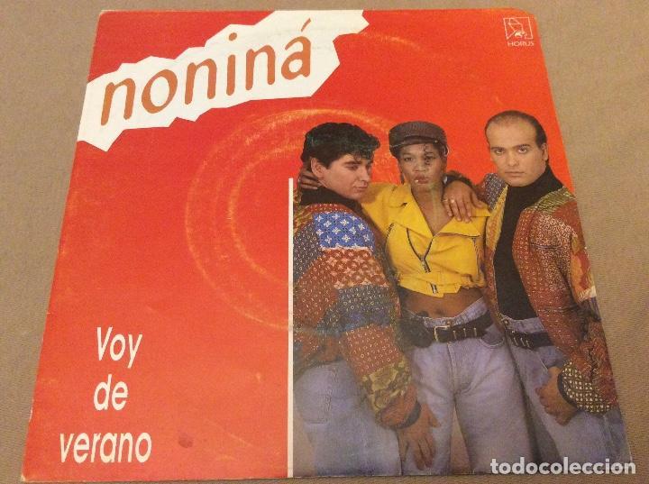 NONINÁ - VOY DE VERANO / PERO NIÑA. HORUS 1990 (Música - Discos - Singles Vinilo - Grupos Españoles de los 90 a la actualidad)
